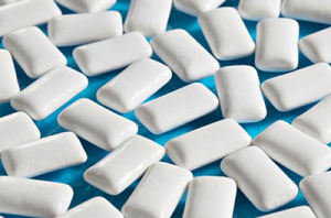 If you chew sugar-free gum, you may be in luck!